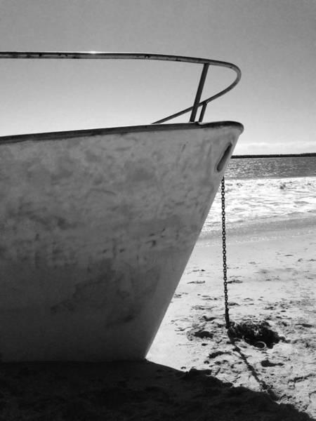 Photograph - Grounded Prow by Lorraine Devon Wilke