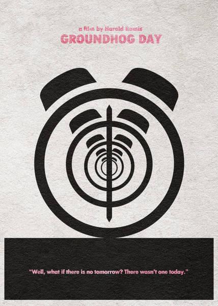 Digital Art - Groundhog Day by Inspirowl Design