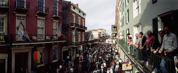 Procession Photograph - Group Of People Participating by Panoramic Images