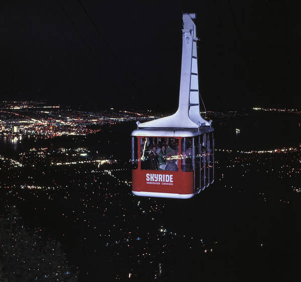 Photograph - Grouse Mountain Tram by Greg Reed