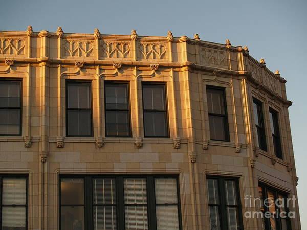 Asheville Wall Art - Photograph - Grove Arcade In Golden Hour by Anna Lisa Yoder