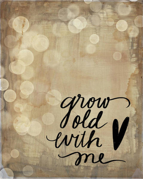 Wall Art - Painting - Grow Old by Katie Doucette