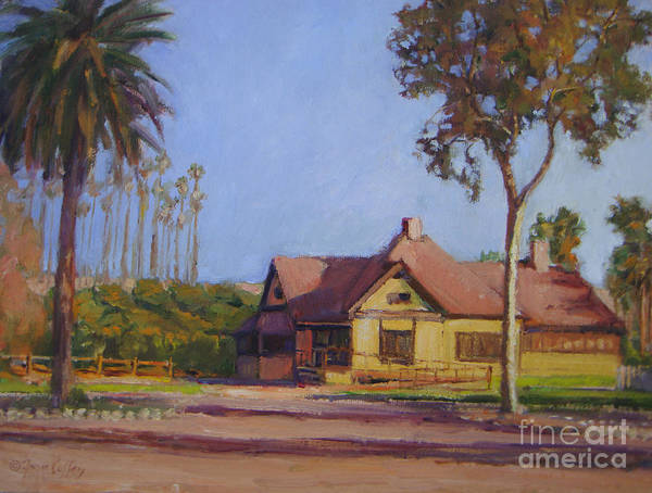 Painting - Growers House by Joan Coffey