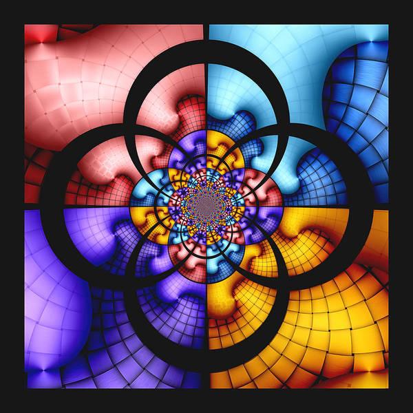 Saffron Digital Art - Growth Patterns by Wendy J St Christopher