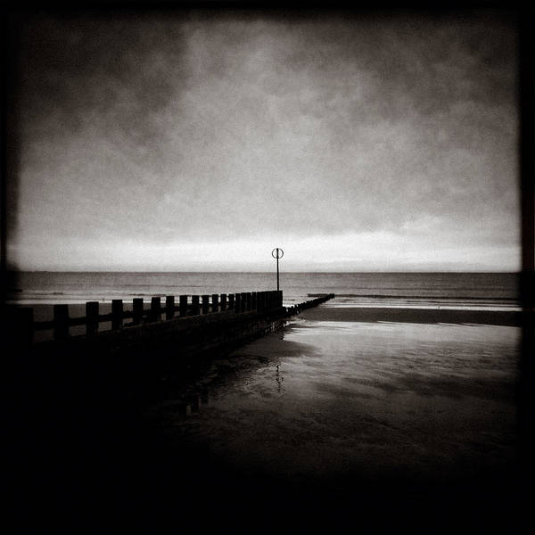 Iphoneography Wall Art - Photograph - Groyne 2 by Dave Bowman