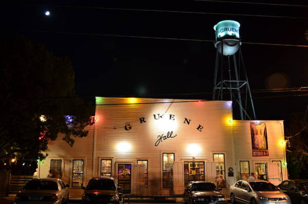 Time Exposure Wall Art - Photograph - Gruene Hall by David Morefield
