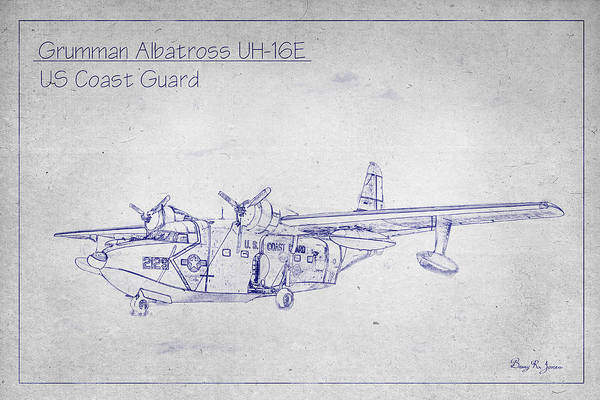 Digital Art - Grumman Albatross by Barry Jones