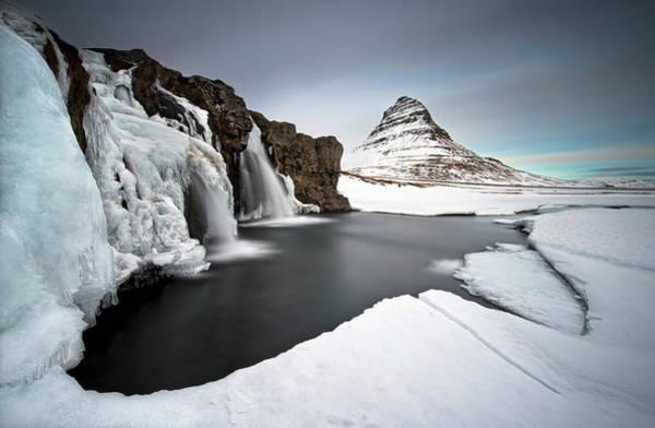 Famous Waterfall Wall Art - Photograph - Grundarfjordur by Liloni Luca