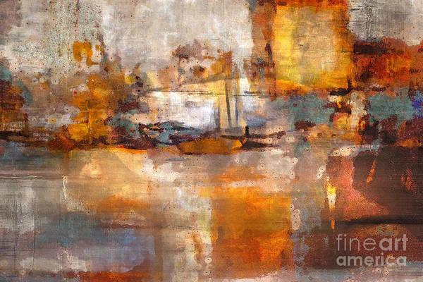 Painting - Grunge by Lutz Baar