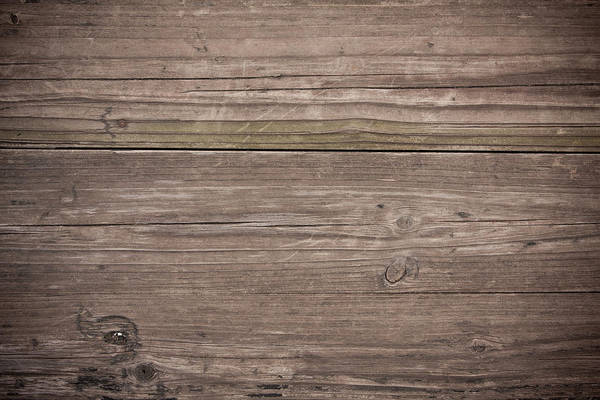Boat Deck Photograph - Grunge Wood Textured Background by Hudiemm