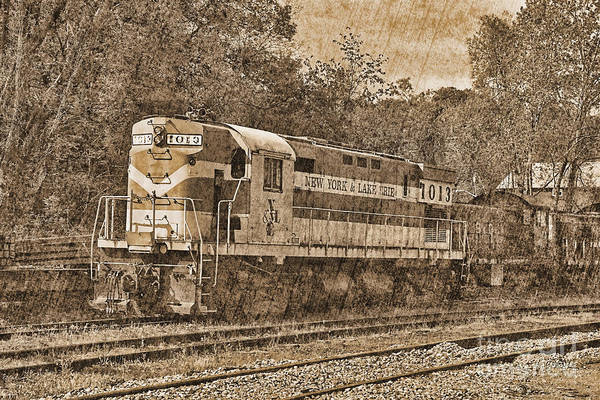 Photograph - Grungy Locomotive by Jim Lepard