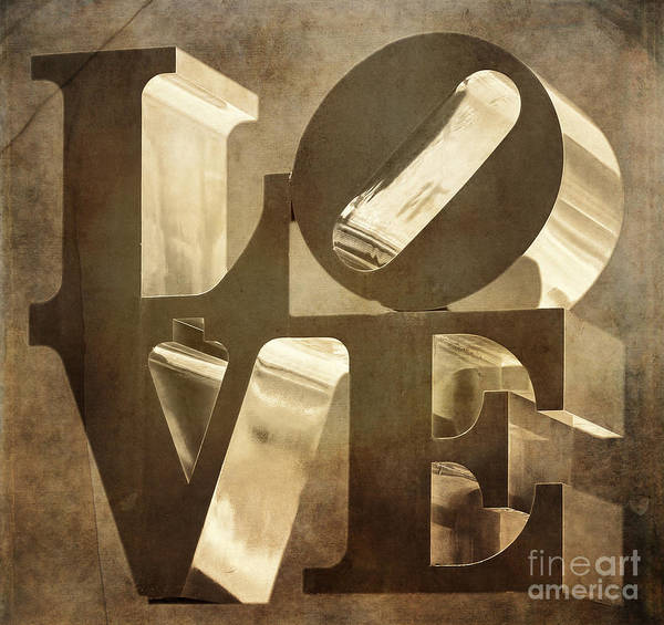 Brotherly Love Digital Art - Grungy Love by Terry Weaver