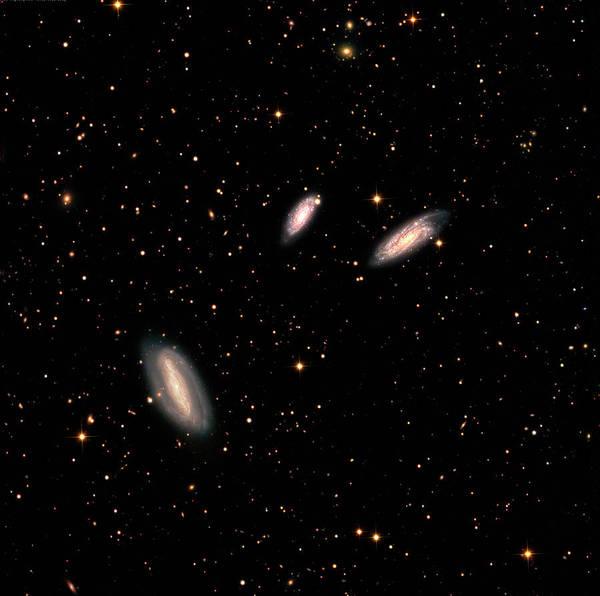 Interacting Galaxies Wall Art - Photograph - Grus Interacting Galaxies by Damian Peach