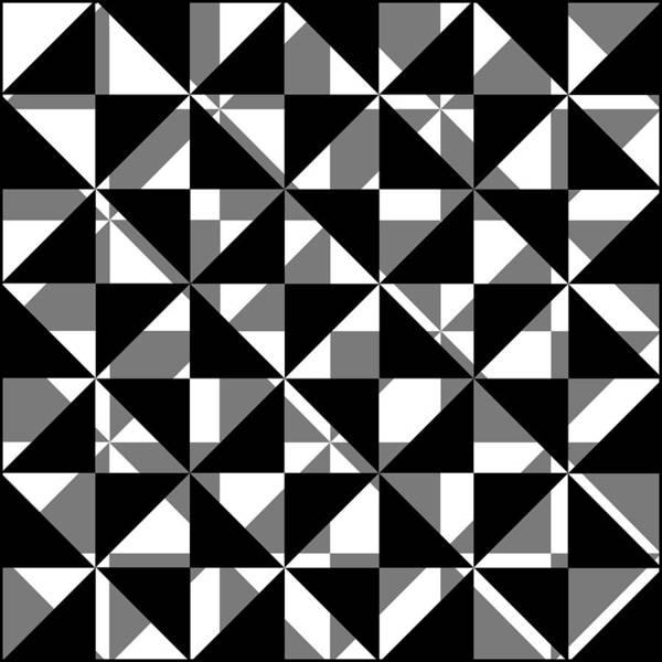 Grayscale Digital Art - Gs 2 by Mike McGlothlen