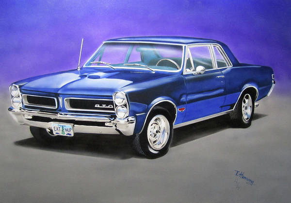 Painting - Gto 1965 by Thomas J Herring