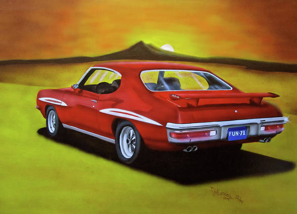 Painting - Gto 1971 by Thomas J Herring