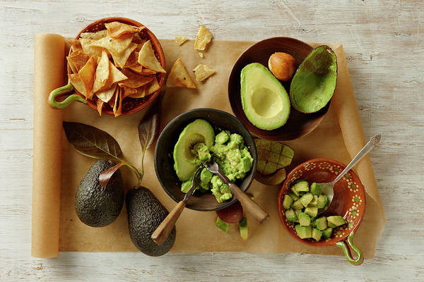 Healthy Eating Photograph - Guacamole by Lew Robertson