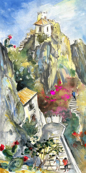 Wall Art - Painting - Guadalest 03 by Miki De Goodaboom