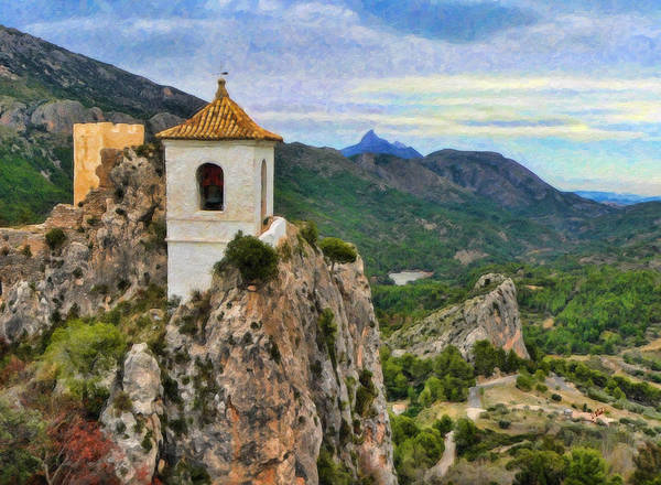 Painting - Guadalest by Dean Wittle