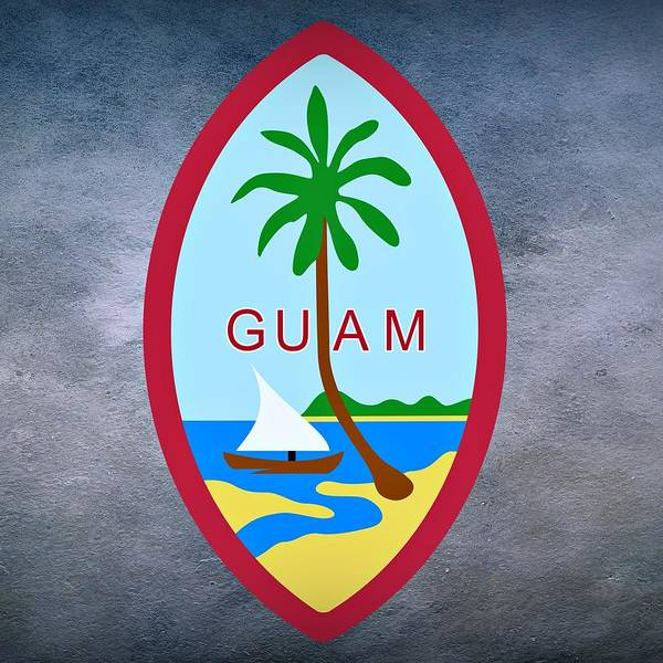 Digital Art - Guam Territory Seal by Movie Poster Prints