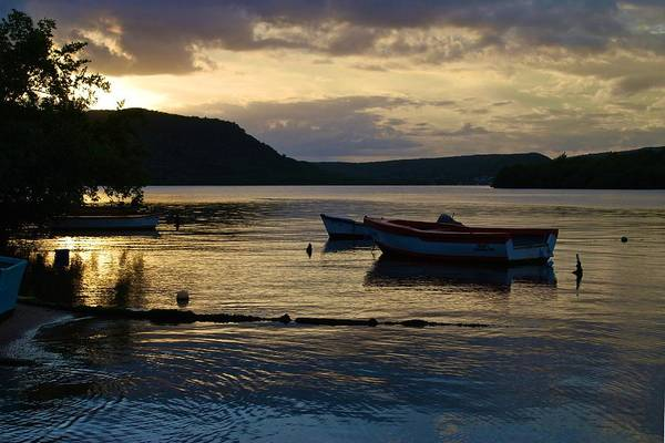 Photograph - Guanica Bay Sunset by Ricardo J Ruiz de Porras