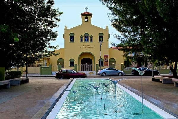 Photograph - Guanica Catholic Church by Ricardo J Ruiz de Porras