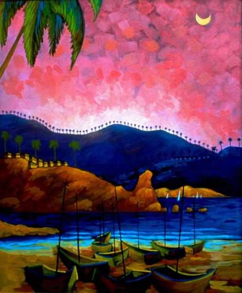 Conceptualism Painting - Guantanamo Blues by Miguel Suarez-Pierra