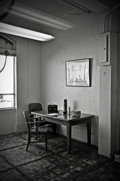 Birdman Wall Art - Photograph - Guard Dining Area In Alcatraz Prison by RicardMN Photography