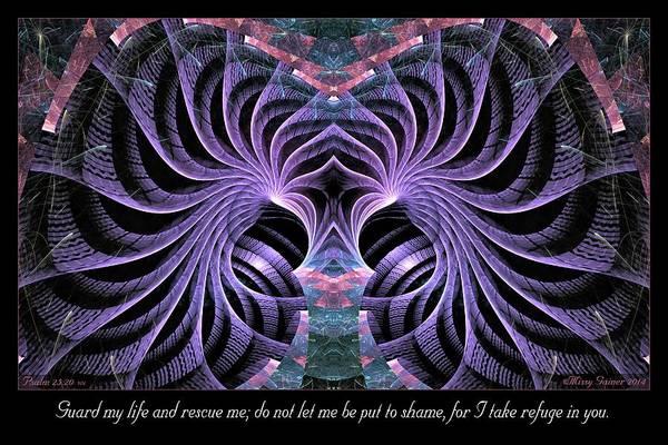 Digital Art - Guard My Life by Missy Gainer