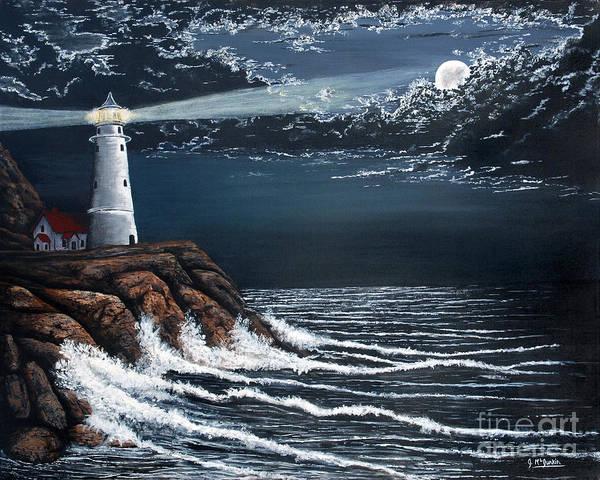 Hilton Head Island Painting - Guardian by Jeff McJunkin