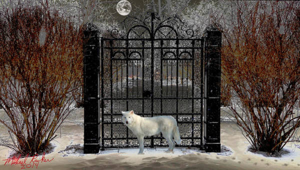 Wall Art - Photograph - Guardian Of The Gate by Michael Rucker