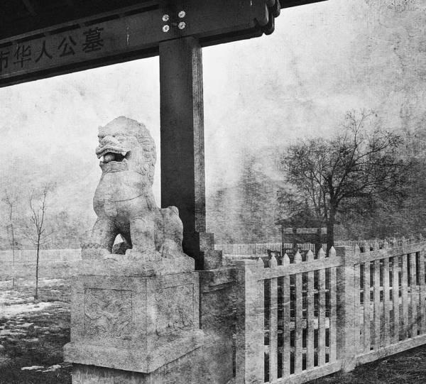 Canadian National Railway Photograph - Guardian Of The Gate by Theresa Tahara