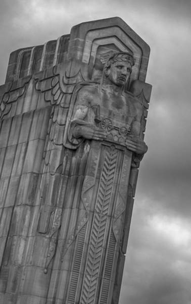 Photograph - Guardian Of Traffic  7k00824 by Guy Whiteley