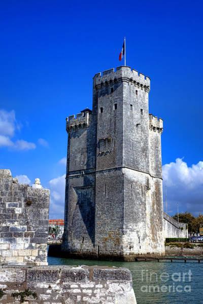 Fortification Photograph - Guarding La Rochelle by Olivier Le Queinec