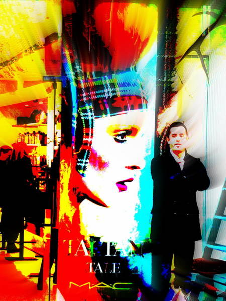 Wall Art - Photograph - Guarding The Tartan In London  by Funkpix Photo Hunter