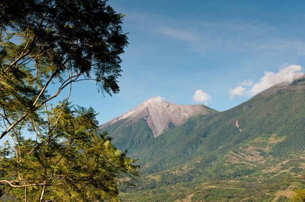 Active Volcano Photograph - Guatemala, Antigua by Michael Defreitas