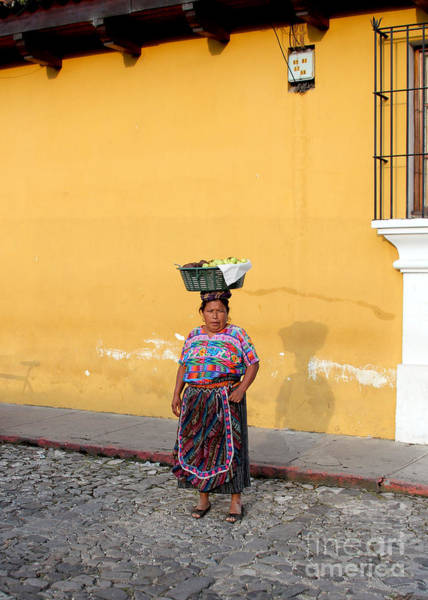 Salvador Photograph - Guatemala Lady by Carey Chen