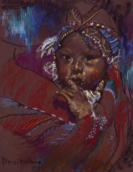 Painting - Guatemalan Child by Ellen Dreibelbis