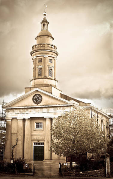 Weather Vane Photograph - Guernsey Building by Tom Gowanlock
