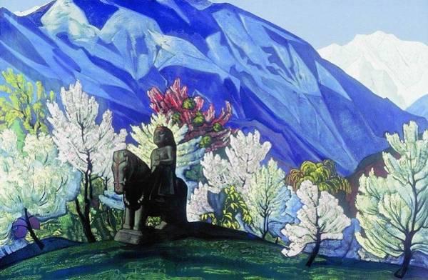 Tretyakov Gallery Painting - Guga Chohan - Kuluta by Nicholas Roerich