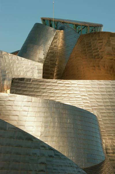 Guggenheim Wall Art - Photograph - Guggenheim Museum, Bilbao, Spain by Schafer & Hill