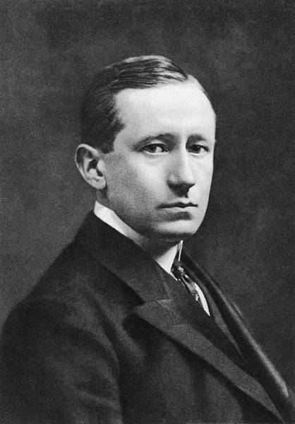 Guglielmo Marconi Art Print by Miriam And Ira D. Wallach Division Of Art, Prints And Photographs/new York Public Library