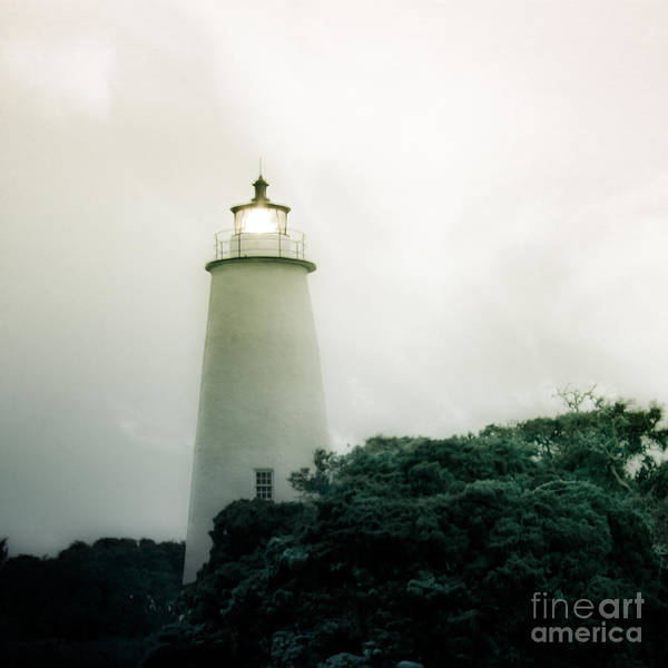 Ocracoke Lighthouse Photograph - Guided By The Light by Amy Bish