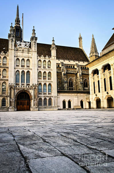 Wall Art - Photograph - Guildhall Building And Art Gallery by Elena Elisseeva