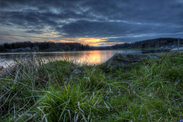 Photograph - Guilford Sunset by David Dufresne