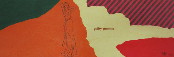 Wall Art - Painting - Guilty Promise by Lance Bifoss