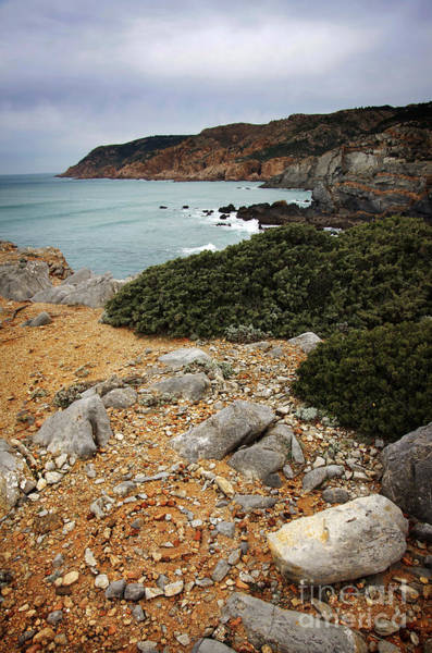 Roca Wall Art - Photograph - Guincho Cliffs by Carlos Caetano