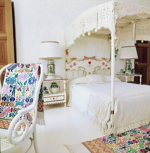 Wall Art - Photograph - Guinness' Bedroom by Horst P. Horst