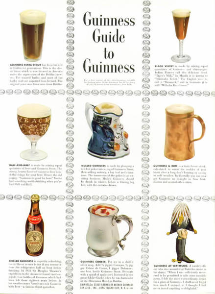 Foaming Wall Art - Digital Art - Guinness Guide To Guinness by Georgia Fowler