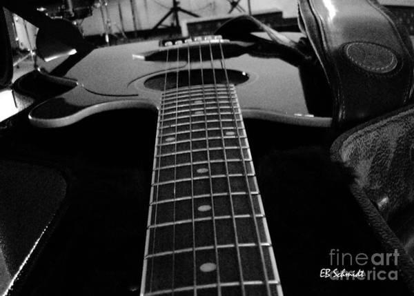 Photograph - Guitar 01 by E B Schmidt